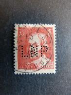 FRANCE L N° 306 Célébrité 1934 LNP 107 Indice 2 Perforé Perforés Perfins Perfin Superbe - Perfins