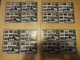 Sierra Leone 2012 MNH UEFA Euro European Football Championships 16x 6v Sheetlets