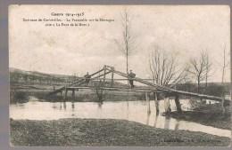 GERBEVILLER . La Passerelle Sur La Mortagne , Dite Le Pont De La Mort . - Gerbeviller