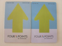 Four Points By Sheraton,two Different(from China) - Cartes D'hotel