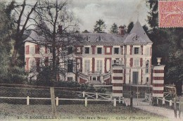 78 BONNELLES   Vallée De Chevreuse  CPA Colorisée  Entrée Chateau De BISSY Et Son PARC 1905 - France