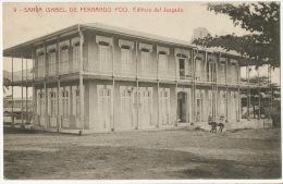 9 Santa Isabel De Fernando Poo Edificio  Del Juzgado  Foto Thomas Barcelona - Equatorial Guinea