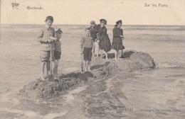 Cpa/pk 1910 Westende Sur Les Forts Star De Graeve - Westende