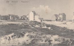 Cpa/pk 1910 Westende Panorama  Star De Graeve - Westende