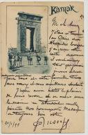 Karnak 1899 Vers Besançon Architecte Banque De France - Egypt