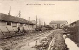 CHATTENCOURT - Rue De Bapaume  (Condoléances Décès De Antoine Ginoux Félibre (69361) - France