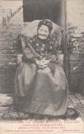 Cpa/pk 1907 Honderdjarige Vrouw Villers  Geboren 1807 Wakken Wacken - Dentergem