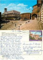 Perugia, Italy Italia Postcard Posted 1987 Stamp - Perugia