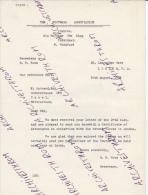 Suisse : Association Suisse De Football Et D'Athlétisme - Sect. Football - Cours Central Technique Mai 1944 (H 110) - Football