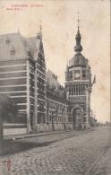 Cpa/pk 1908 Oudenaarde Audenarde - La Station Excelsior Sugg - Oudenaarde