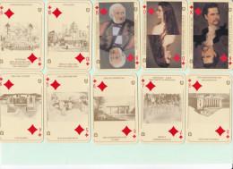 2 JEUX DE CARTES A JOUER 55 CARTES ( 52+3 joker ) ALLEMAND / AUTRICHIEN
