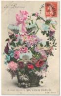94 - LE PERREUX - Du Perreux, Je Vous Envoie Ce Souvenir Fleuri - 1910 - Le Perreux Sur Marne