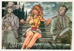 4/4 CPM Cartolina Milo Manara BD Fumetti Carte Postale Comics - Fumetti