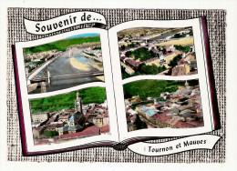 07 - SOUVENIR DE TOURNON ET MAUVES - 4 Multivues - Edition LAPIE - Tournon
