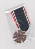 Croce    Italiana   10 Anni Di Servizio  MVSN - Italie