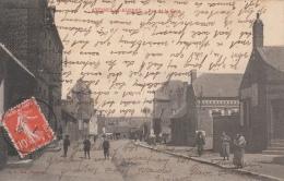 Cpa/pk 1912 Avesnes-les-Aubert Rue De La Gare - France