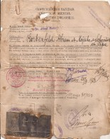 JUDAICA - 1926 GENTLEMAN + 3 KIDS STORY OF EMIGRATION From POLAND To ARGENTINA - Certificat Medical - SEE DESCRIPTION - Historical Documents