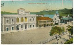 Alcadia De Humacao P.R. Puerto Rico Edit F. Liebig San Juan 1917 Used To St Briac France - Puerto Rico