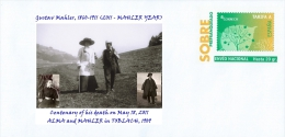 SPAIN, Gustav Mahler, 1860-1911 (2011 - MAHLER YEAR), Centenary Of His Death On May 18, 2011 Composer, Conductor, Music - Musica