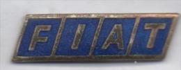 Beau Pin´s En EGF , Auto Fiat , Logo - Fiat