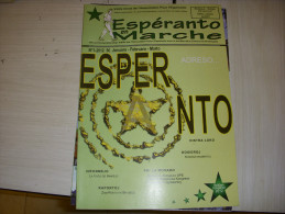 REVUE En FRANCAIS Et ESPERANTO - ESPERANTO EN MARCHE N° 1 01.2012 - Livres, BD, Revues
