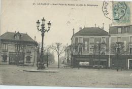 93, Seine-Saint-Denis, Le RAINCY,Rond Point Du Plateau Et Allée Du Télégraphe, Scan Recto-Verso - Le Raincy