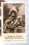 Image Pieuse Holy Card B. Joanna Scopelli - Carmel IV 57 Van Fleteren Haut Port Gand - Saint Jean ? - Images Religieuses