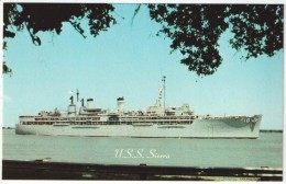 U.S.S. SIERRA (AD-18) Destroyer - Guerra
