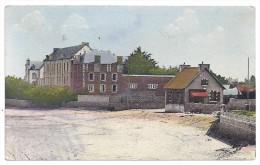 CPA Colorisée Guissény Sur Mer Finistère 29 Entrée De La Plage édit Combier écrite 1945 - France