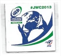 Magnet Rugby Coupe Du Monde Moins De 20 Ans IRB JWC2013 FFR Vannes Junior World Championship - Sport