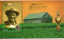 Lote CU2014-9, Cuba, 2014, SS, 6 Stamps, 95 Años Natalicio De Alejandro Robaina Pereda, Tabaco, Tobacco, Cigar - FDC