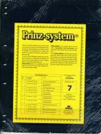 Prinz Single Side Stocksheets, 7 Strips Per Page, Pack Of 10 - Stockbooks