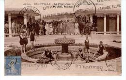 DEAUVILLE - La Plage Fleurie - Deauville