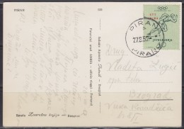4821. Italy, Yugoslavia, Slovenia, Trieste, Zone B, 1952, Postcard - Jugoslavia