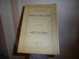 ASSOCIATION DES PROPRIETAIRES D´APPAREILS A VAPEUR Du Nord De La France 1931 (figures + Planches) - 1901-1940