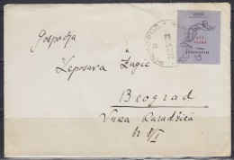 4823. Italy, Yugoslavia, Slovenia, Trieste, Zone B, 1952, Letter - Storia Postale
