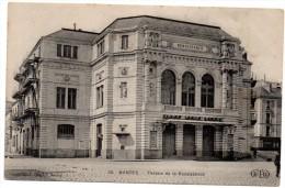 CP, 44, NANTES, Théâtre De La Renaissance, Voyagé En 1908 - Nantes