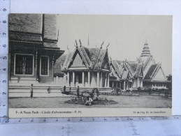 CPA Cambodge - A Pnom Penh - L'école D'administration - Kambodscha