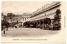 CP, 44, NANTES, Le Cours Cambronne (ouvert En 1789), Dos Simple, Vierge - Nantes