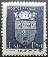 FRANCE Armoirie D'Angers N°558 Oblitéré - 1941-66 Wappen