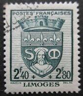 FRANCE Armoirie De Limoges N°560 Oblitéré - 1941-66 Wappen
