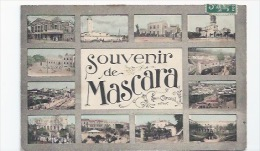 ALGÉRIE - MASCARA -  SOUVENIR MULTIVUES  - CPA - Tlemcen