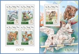 slm14118ab Solomon Is. 2014 Dog s/s
