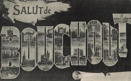 """BELGIQUE - ANVERS  - BOECHOUT - BOUCHOUT - """"Salut De Bouchout"""". - Boechout"""