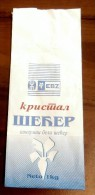 Usine SAJKAS Zabalj (Serbia) White Crystals SUGAR Of Beet  /1kg Bag / SUCRE SUIKER ZUCCHERO ZUCKER AZÚCAR - Sucres
