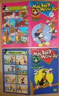 2x MICKEY MOUSE VERJAARDAGSALBUM - DREFT 1978 - DISNEY - Donald Duck Extra