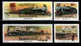 BOPHUTHATSWANA, 1991, MNH Stamp(s), Trains, Nr(s)  265-268 - Bophuthatswana