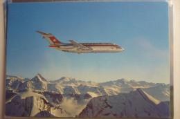 AIRLINE ISSUE / CARTE COMPAGNIE    SWISSAIR  DC 9 - 1946-....: Modern Era