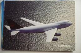 AIRLINE ISSUE / CARTE COMPAGNIE      LUFTHANSA     B 747 200 - 1946-....: Moderne