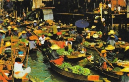 Thailande - Flooting Market - Bangkok - Thailand